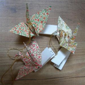 origami gru per bomboniere