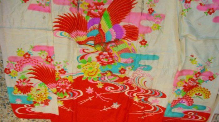 kimono disfatto