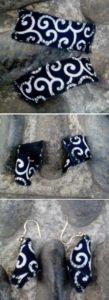 orecchini in stoffa