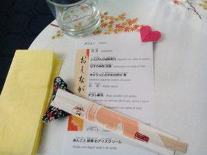 origami per decorare tavolo