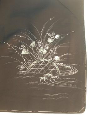 imbastitura di kimono