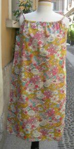 abito con stoffa giapponese