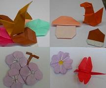 origami di autunno