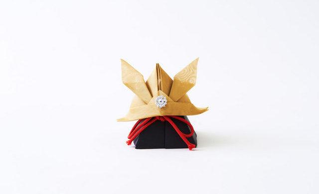Origami metallo Samurai
