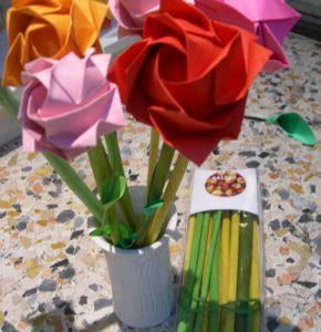 legno profumato con origami