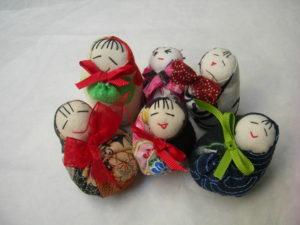 bambola Hime Daruma
