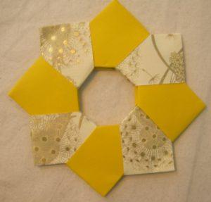 origami ghirlanda