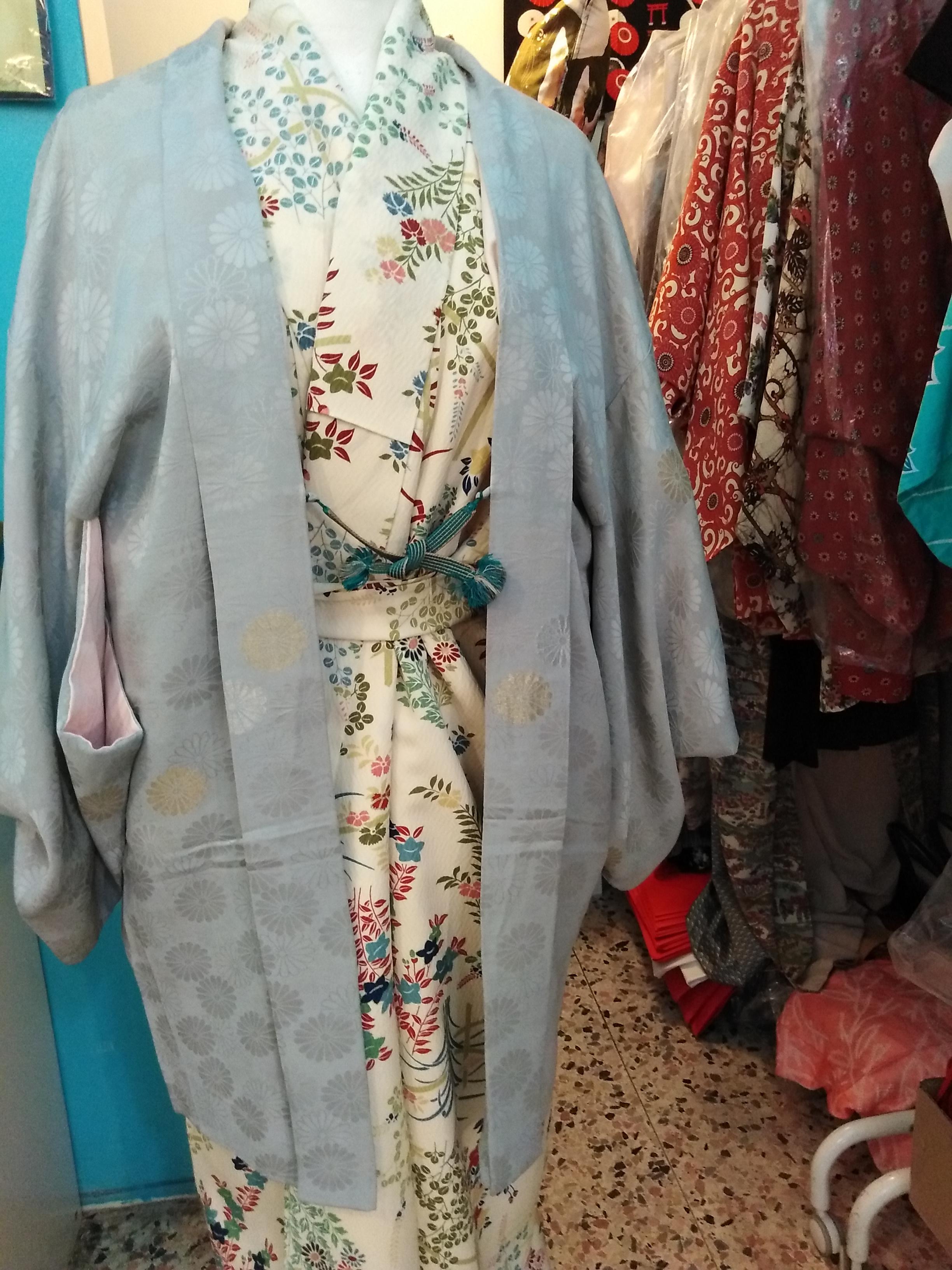 Come si veste kimono haori