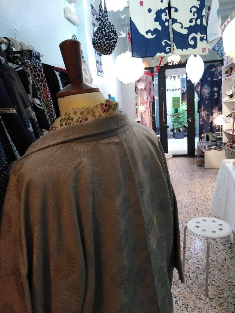 Giacca kimono dietro