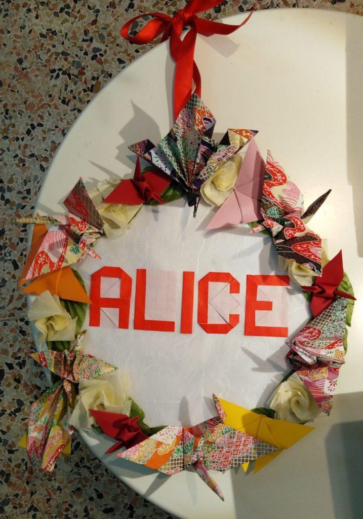 Ghirlanda origami