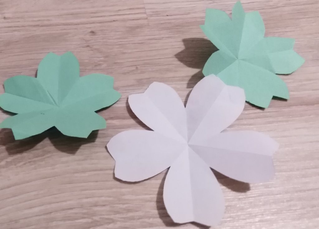 kirigami sakura