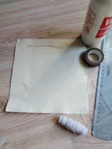 materiali per fare mascherina