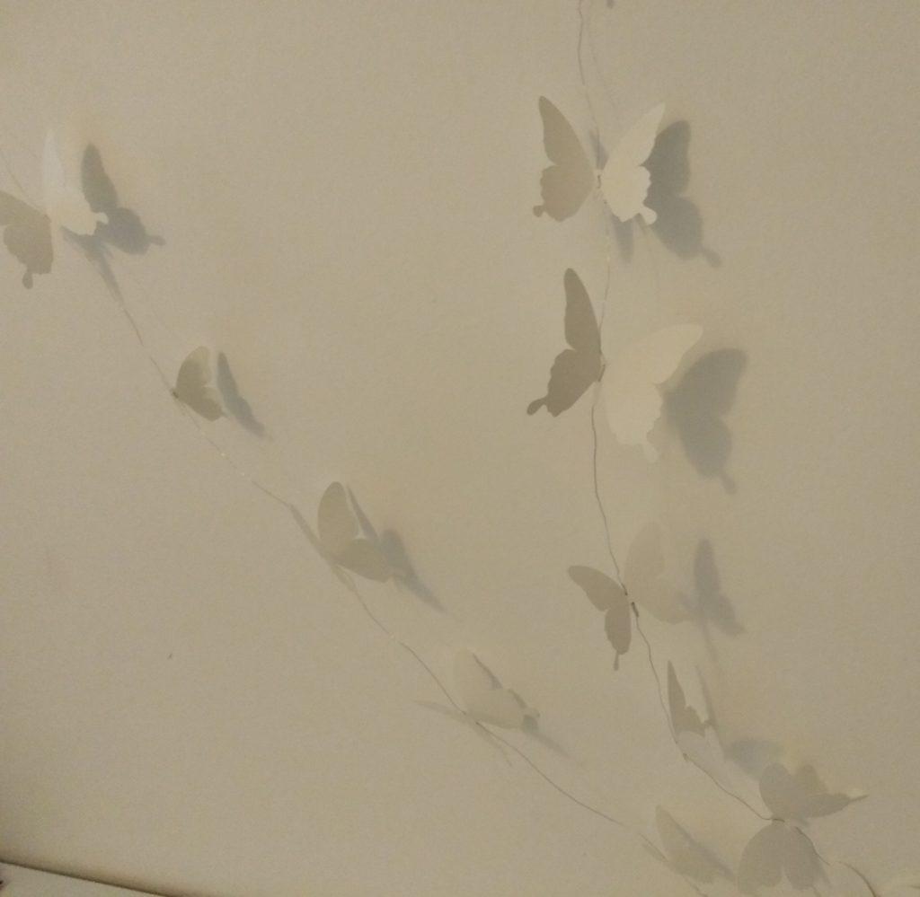 ghirlanda farfalle