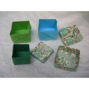 origami scatolette