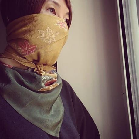 mascherina di furoshiki