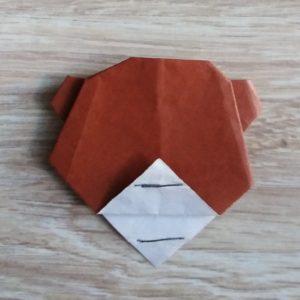 origami orsetto 9