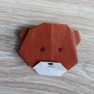 origami orsetto pronto