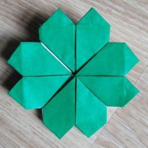 origami quadrifogli