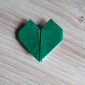 origami cuore pronto