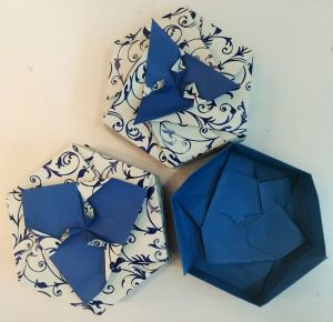 scatola origami di Tomoko Fuse