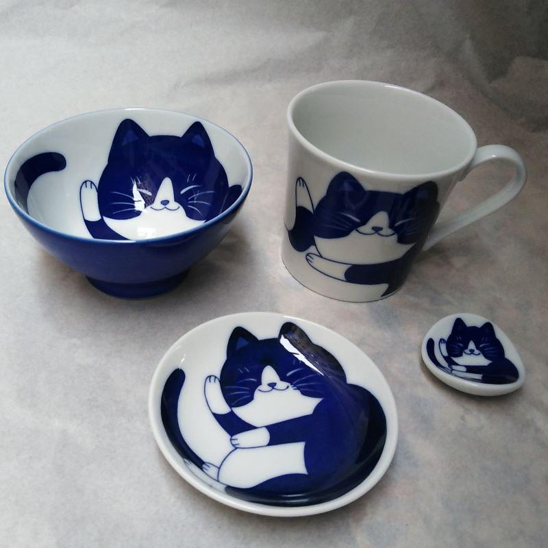 ceramica dal giappone, gatto
