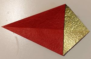 origami base di aquilone
