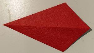 origami aquilone rovesciato