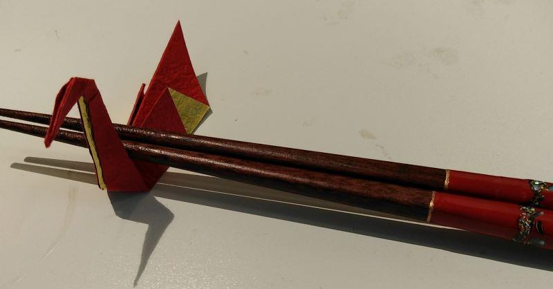 appoggi bacchette origami