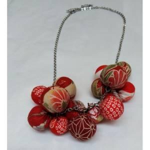 collana palloncini di stoffe