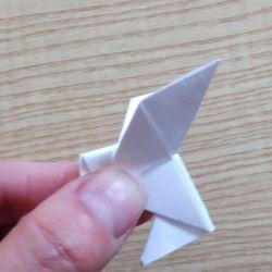 origami colomba