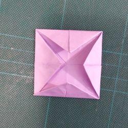 origami fiore di loto 3