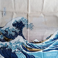 Furoshiki Hokusai Onda