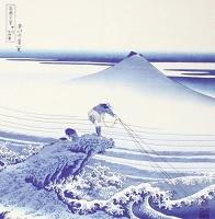 Furoshiki Hokusai Pescatore