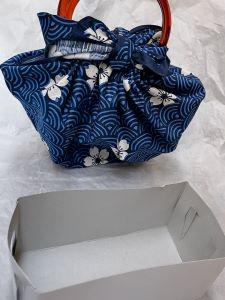 Borsetta Furoshiki e scatoletta