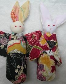 coniglietto vestito kimono