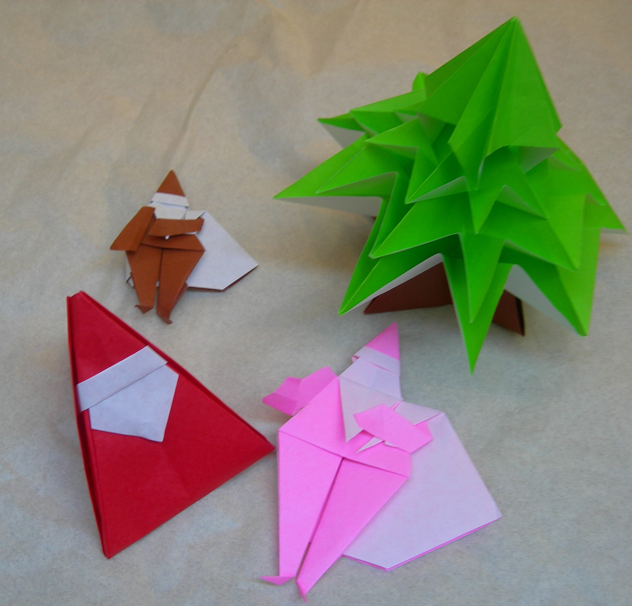 origami natale