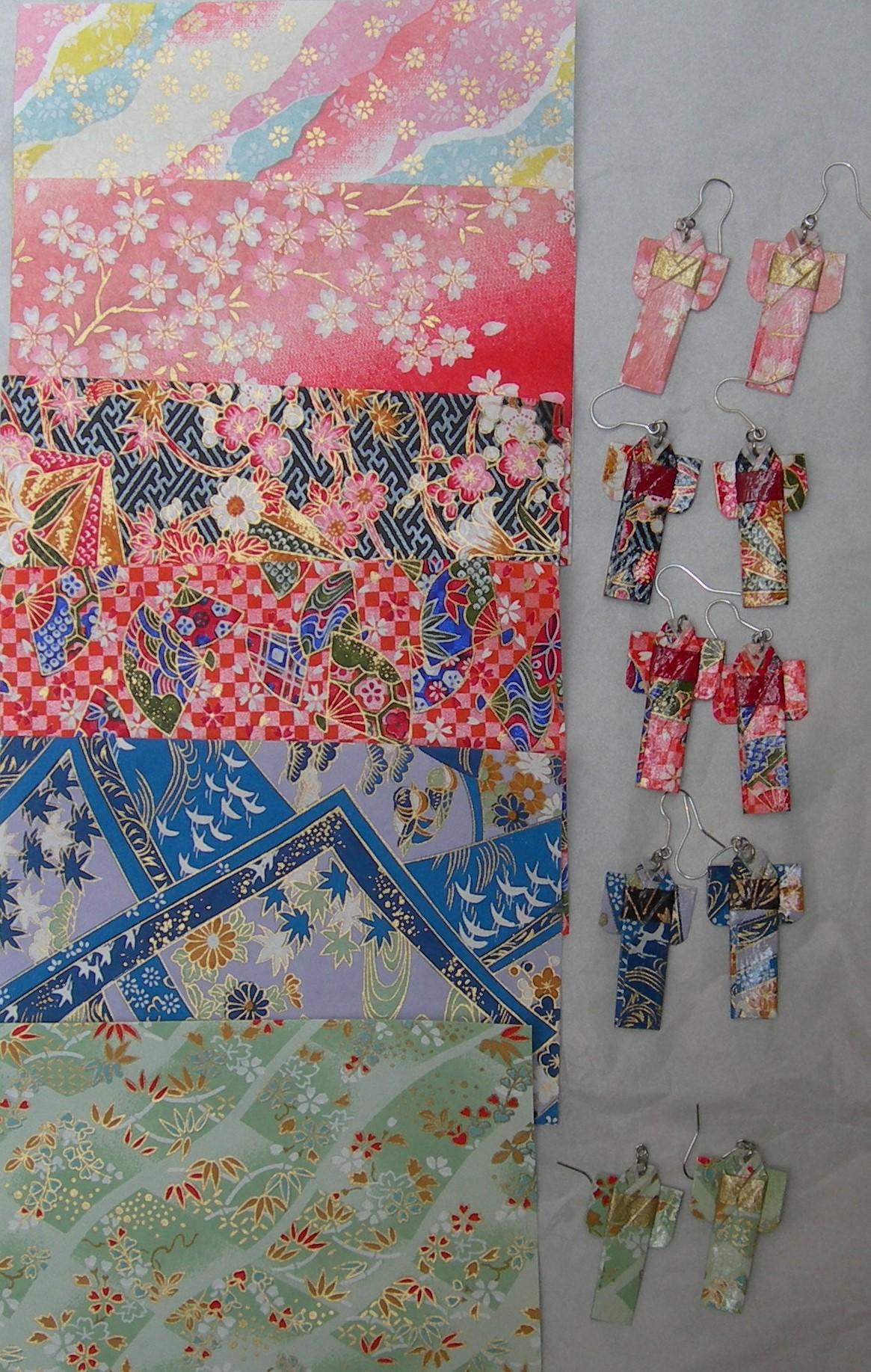 origami e kimono
